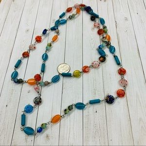Cookie Lee Glass Bead Necklace